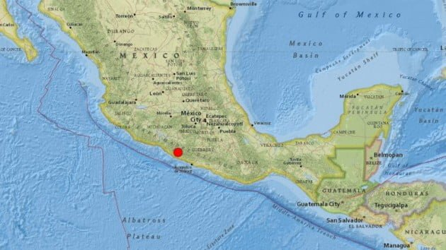 Photo of Terremoto de 7,5 grados remece a México