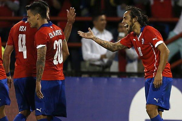 Football, Chile v Venezuela