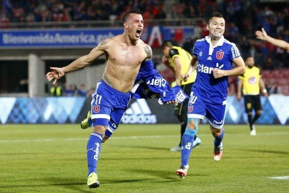 Photo of (Fotos) De la goleada de U. de Chile frente a San Luis de Quillota en el Estadio Nacional