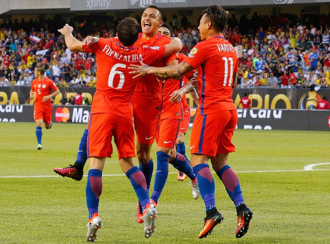 Photo of Chile le ganó a Colombia y volverá a enfrentar a Argentina en una nueva final de Copa América