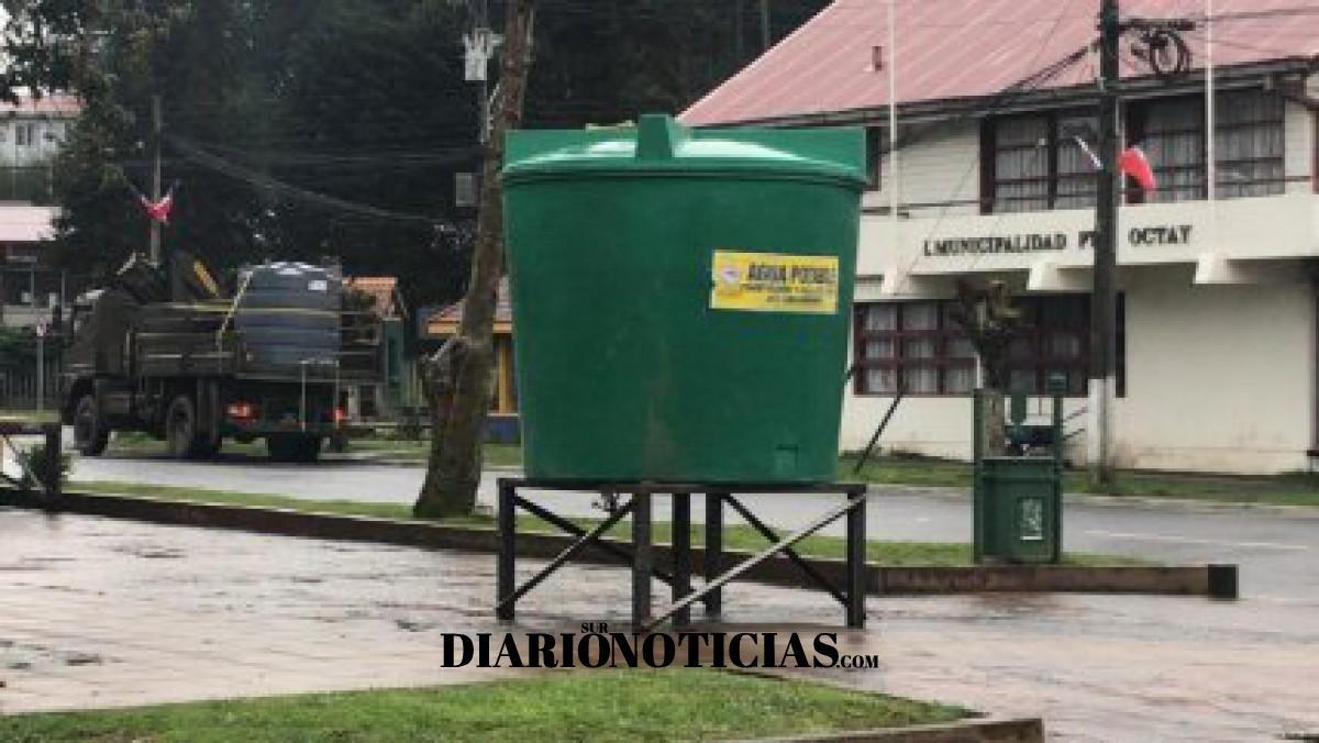 Photo of Puerto Octay completa 7 días sin suministro de agua potable