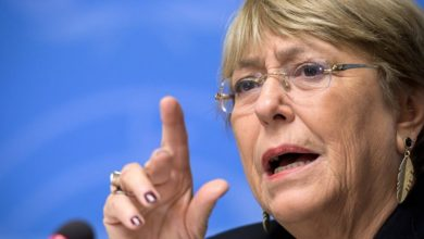 """Photo of Activista mapuche increpó a Michelle Bachelet en Suiza: """"Usted es la alta comisionada debe responder"""""""